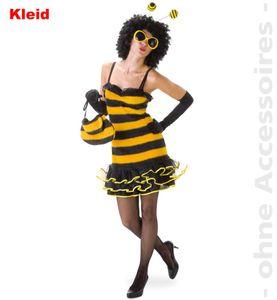 Biene Plüsch sexy Bienen Karneval Fasching Kostüm 38