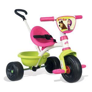 Smoby 7600740300, Mädchen, Frontantrieb, Senkrecht, Kinder, Aufblasbare Räder, Schwarz, Olive, Pink, Weiß