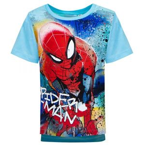 Marvel Spiderman T-Shirt ärmellos Kinder Shirt Grau 98 104 110 116 122 128