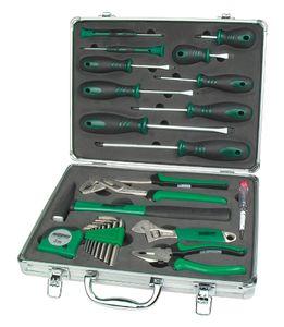 BRÜDER MANNESMANN Werkzeugsatz 24-teilig im Alukoffer