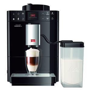 Melitta F53/1-102 Caffeo Passione OT vollautomatische Espressomaschine, Schwarz