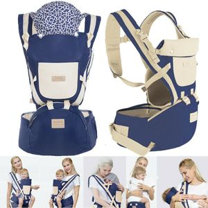 9 in1 Ergonomische Babytrage Kindertrage Bauchtrage Rückentrage 4 Tragpositionen Rucksack