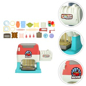 1Set Kids elektrische Nudelmaschine DIY Plastilinformwerkzeug ohne Batterie