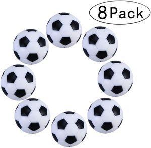 8 Stück 32mmTischfußball Kickerbälle Schwarz Weiß hart und schnell