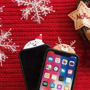 1 Stück Weihnachts-Handyhülle (rot) ,