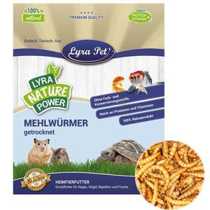 10 Liter Lyra Pet® Mehlwürmer getrocknet im Beutel