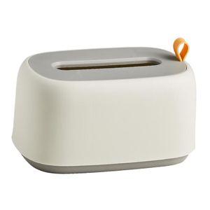 Tissue Holder Tissue Box Toilettenpapierspender Tissue Box Countertop Desk Farbe Weiß