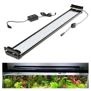 EINFEBEN LED Aquarium RGB &Vollspektrum Aufsetzleuchte Beleuchtung 75-95cm