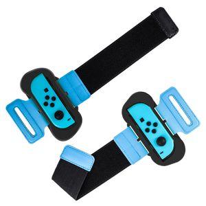 2-teiliges Armband kompatibel mit Nintendo-Schalter Joy-Con verstellbarer Armbandstreifen mit Nylonverschluss kompatibel mit Just Dance