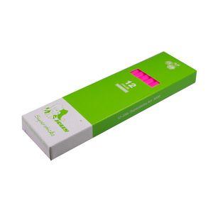 Jolly 3000-0463 Supersticks Buntstifte Kinderfest, neon pink (12er Pack)