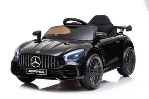 Mercedes AMG-GTR SPORTWAGEN KINDERAUTO KINDERFAHRZEUG ELEKTROAUTO 12V  2 Motoren Schwarz