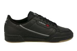 adidas Originals Sneaker Continental 80 Schwarz / Grau / Braun, Größe:46