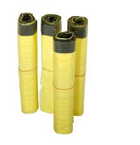 Gelber Sack 4 Rollen à 13 Stück, 52 Müllsäcke, 90 Liter mit Zugband