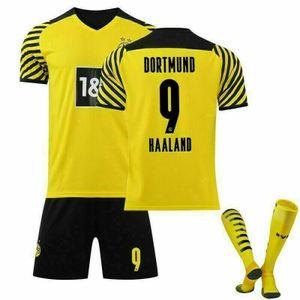 2021/22 Dortmund Heim Trikot Haaland #9 Sportbekleidung-Sets, Größe: 26