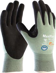 ATG Schnittschutz-Handschuhe 34-6743 Schnittschutzhandschuhe MaxiFlex Cut 2486 Mehrfarbig schwarz/hellgrün 11