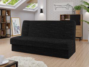 Mirjan24 Schlafsofa Zelka, Sofa mit Bettkasten und Schlaffunktion, Polstersofa, Wohnzimmer  (Farbe: Lawa 06)