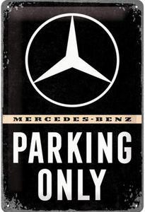 Nostalgic-Art - Blechschild 20 x 30cm - Mercedes-Benz - Parking Only