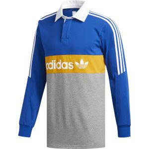 Adidas Skateboarding Herren Polo HERITGE PLO , Größe:L, Farben:croyal/corhtr/tacyel