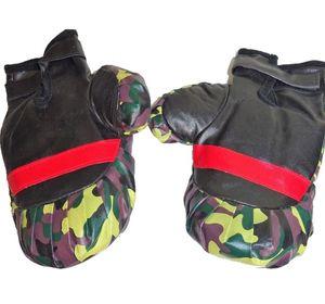 LG-Imports boxsack mit Handschuhen Junior Camouflage Druck