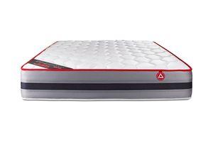 VITALSPRING RECOVER matratze 120 x 190 cm, Taschenfedern und Rückstellschaum, Härtegrad 3, Höhe : 28 cm, 7 Komfortzonen
