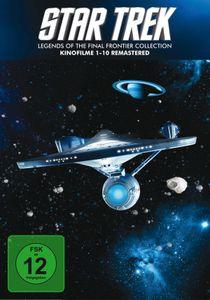 Star Trek 1-10 - Box - Remastered  [10 DVDs] - DVD Boxen