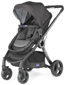 Chicco kinderwagen Urban Plus Aluminium Anthrazit 9-teilig