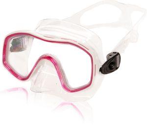 AQUAZON KIDS Junior Schnorchelbrille, Taucherbrille, Schwimmbrille, Tauchmaske für Kinder,  von 3-7 Jahren,  sehr robust, tolle Passform, Farbe:pink Junior
