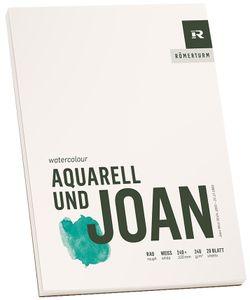 "RÖMERTURM Künstlerblock ""AQUARELL UND JOAN"" 240 x 320 mm"