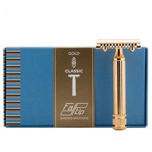 Fatip Gold Classic Gross Rasierhobel offener Kamm 42115