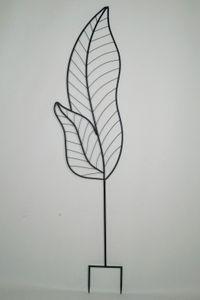 Rankgitter Blatt groß