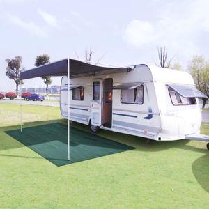 Neues Produkt Zeltteppich Vorzeltteppich Campingteppich Outdoor 250x550 cm Grün