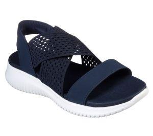 Skechers Damen Sandalen ULTRA FLEX NEON STAR Blau, Schuhgröße:EUR 39