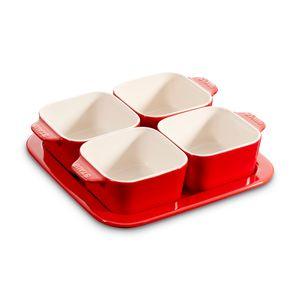 STAUB Keramik Tapas Set Keramik Ceramic by Staub backofenfest/mikrowellengeeignet/spülmaschinengeeignet