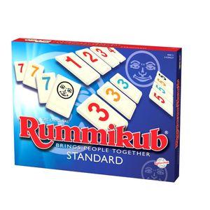 Rummikub STANDARD polnische Bedienungseinleitung Familienbrettspiel STANDARD-Version für 2-4 Spieler
