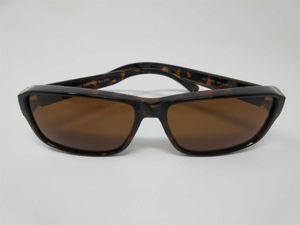 Polarisierende Überbrille havanna Sonnenbrille für Brillenträger 100%UV CAT3