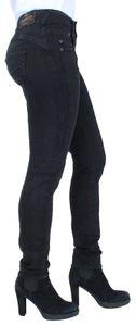 Herrlicher Gila Slim Damen Jeans 5606 DB840 671 Tempest Denim Black, Herrlicher Farben:671 Tempest, Jeans Größen:W27/L30