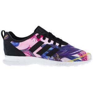 adidas ZX Flux Smooth W Damen-Sneaker Schwarz, Größenauswahl:38