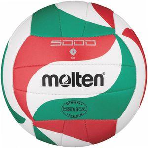 molten Volleyball Miniball Weiß/Grün/Rot Gr. 135g, Ø150 mm