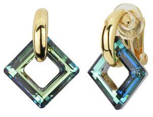 Traveller - Ohrclip - Swarovski crystals - 22ct vergoldet - 157436