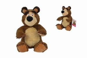 Simba Masha Bean Bag Bär, 20cm, sitzend