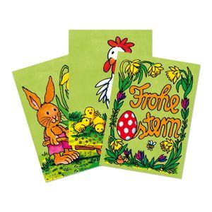 Lutz Mauder Grußkarte mit Wackelbild Frohe Ostern