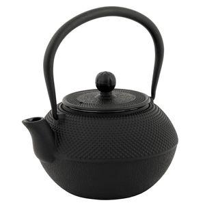 BBQ-Toro Asiatische Gusseisen Teekanne mit Edelstahlsieb | 1,2 Liter