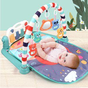 Musik Kinder Spielmatte Erlebnisdecke mit Spielbogen Spieldecke Krabbeldecke Spielmatte für Babys