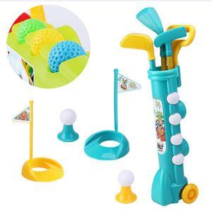 Kinder Sporting Golf Set Golfschläger Golfbälle Kinder Spielzeug Kunststoff Game