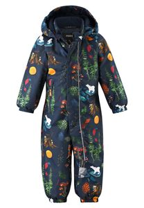 Reima - Schneeanzug für Babys - Reimatec - Puhuri - Marineblau Wald, 86