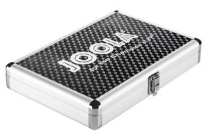 Joola Tischtennisschlägerhülle Alukoffer Schwarz - 80542