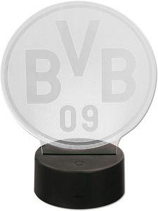 Borussia Dortmund BVB Logoleuchte Lampe Dekoration, schwarzgelb, 20400600