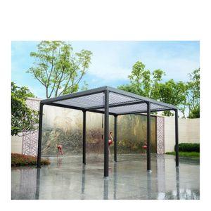 HOME DELUXE - Lamellenpavillon CANNES Pavillon Gartenpavillon Terrasse Partyzelt Überdachung