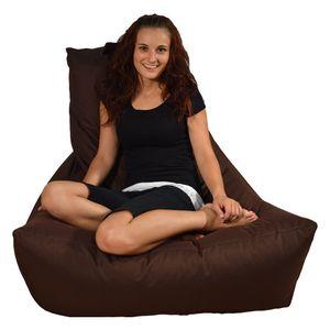 Lounge-Sessel,  Dunkelbraun, outdoorfähig