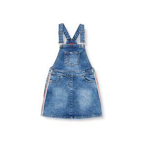 S.Oliver Mädchen Kleider in der Farbe Blau - Größe 104